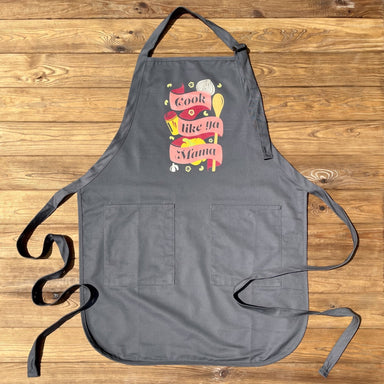Cook Like Ya Momma Apron - Dirty Coast Press
