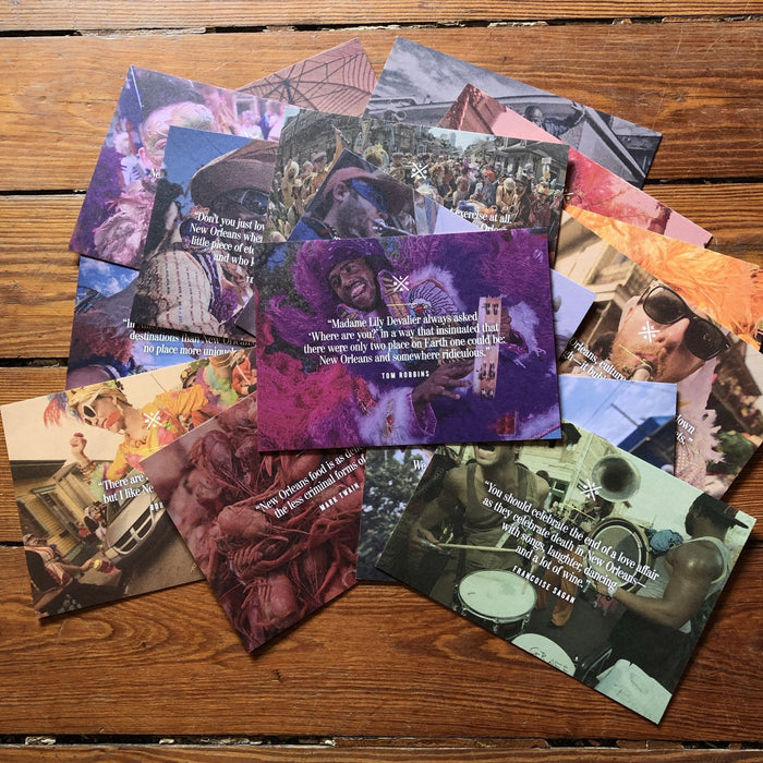 Find Yourself In New Orleans Postcards - Dirty Coast Press