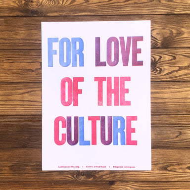 For The Love Of Culture - Dirty Coast Press