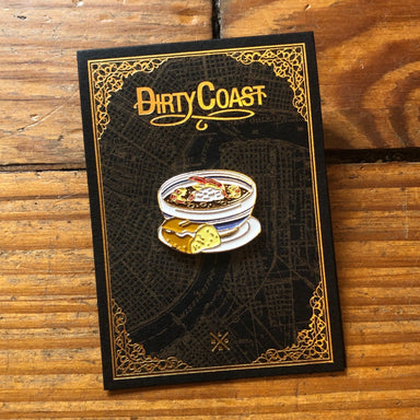 Gumbo Enamel Pin - Dirty Coast Press