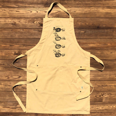 How To Make A Roux Apron - Dirty Coast Press