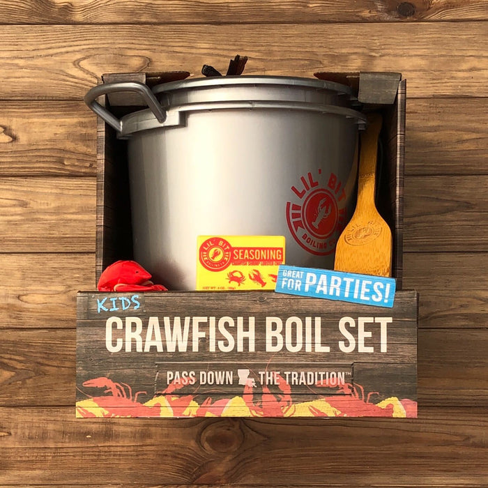 Kid's Crawfish Boil Set - Dirty Coast Press