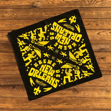 Krewe of New Orleans Bandana - Dirty Coast Press