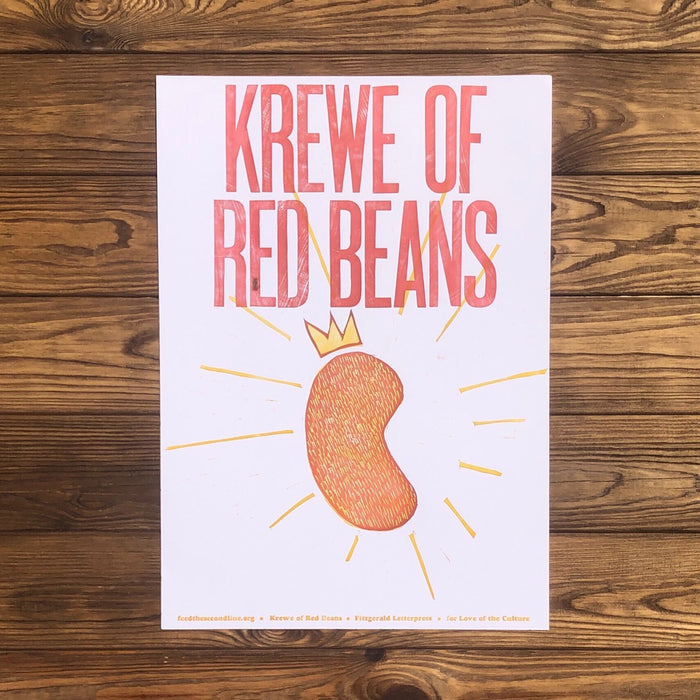 Krewe Of Red Beans - Dirty Coast Press