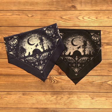 Louisiana At Night Dog Bandana - Dirty Coast Press