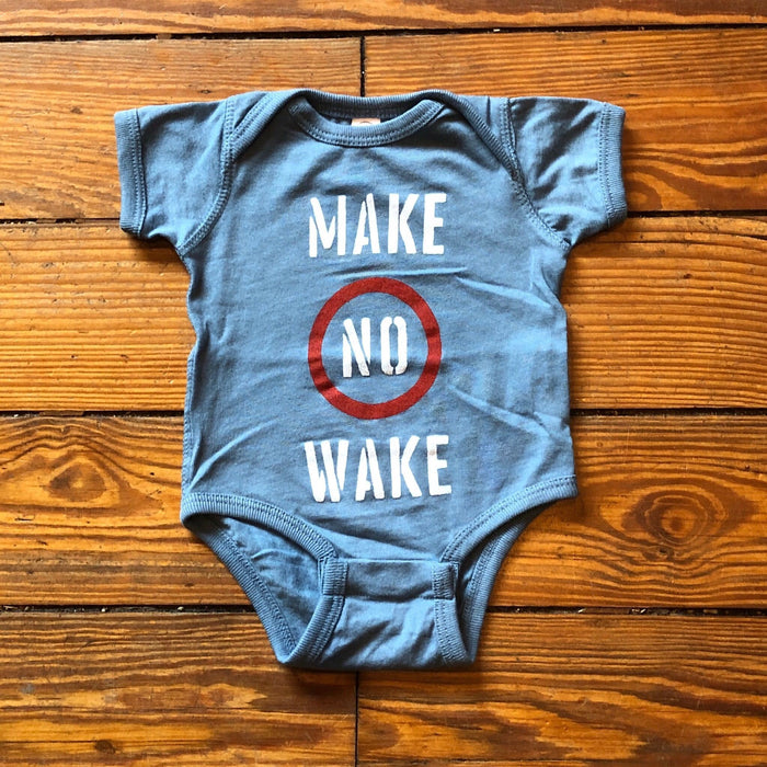 Make No Wake Onesie - Dirty Coast Press