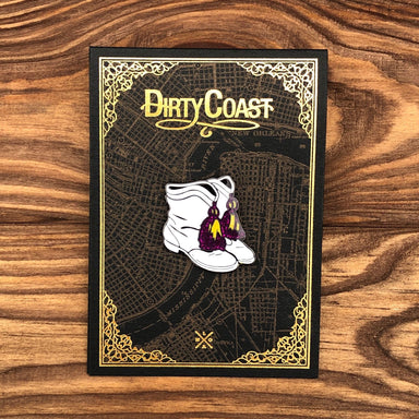Marching Boots Pin - Dirty Coast Press