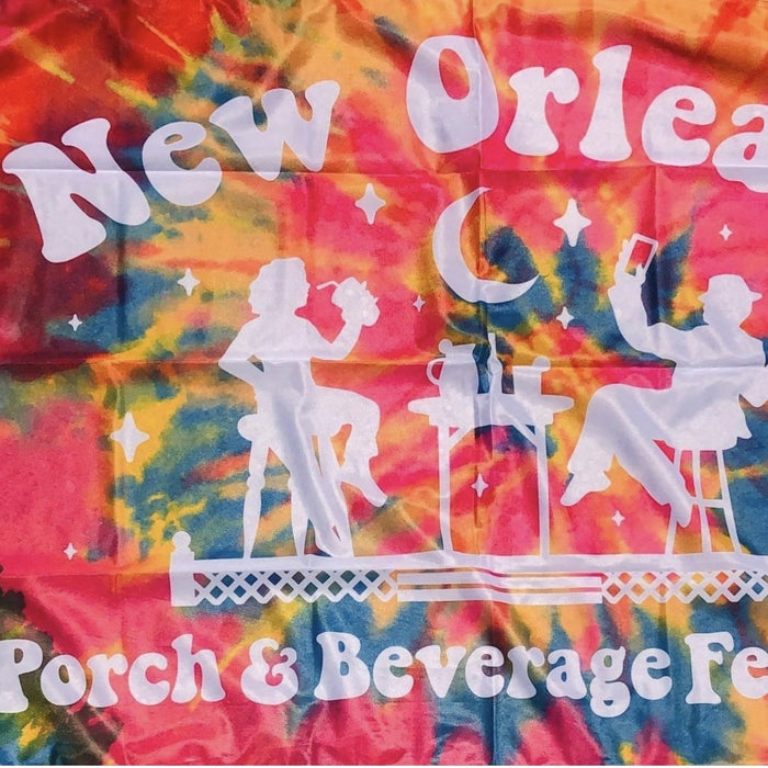 New Orleans Porch & Beverage Festival Flag - Dirty Coast Press