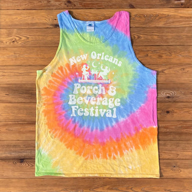 New Orleans Porch & Beverage Festival Tank - Dirty Coast Press