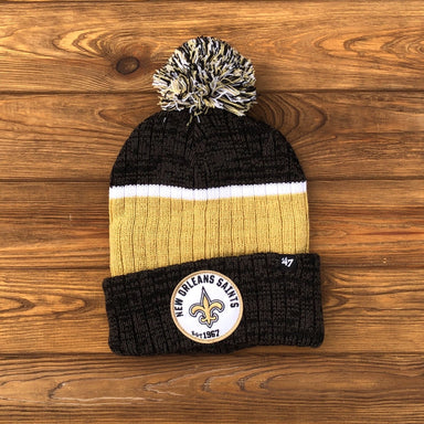 New Orleans Saints Legacy Knit Beanie by '47 Brand - Dirty Coast Press