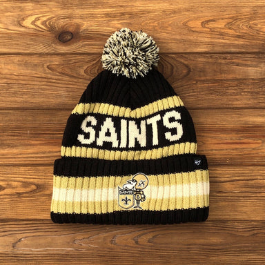 New Orleans Sir Saint Knit Beanie by '47 Brand - Dirty Coast Press