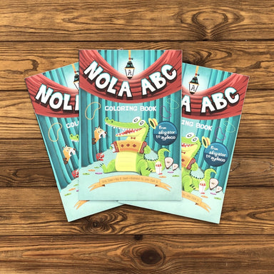 Nola ABC Coloring Book - Dirty Coast Press
