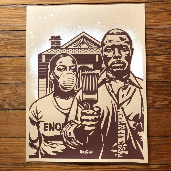 NOLA Gothic Print - Dirty Coast Press