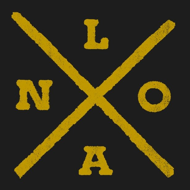 NOLA X Hoodie - Dirty Coast Press