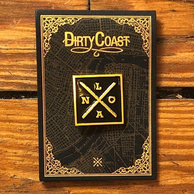 NOLA X Pin - Dirty Coast Press