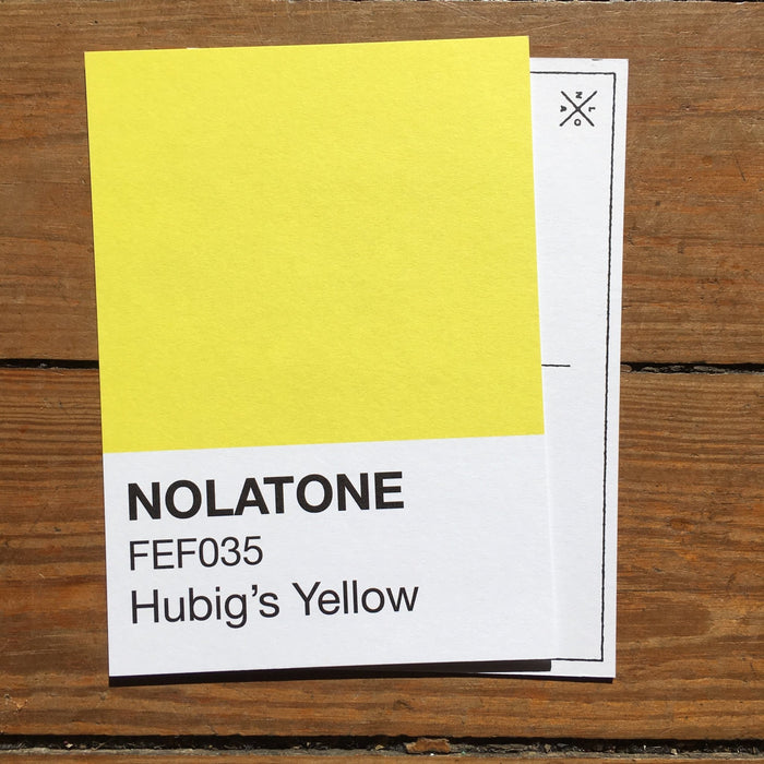 Nolatones Postcard - Hubig's Yellow - Dirty Coast Press