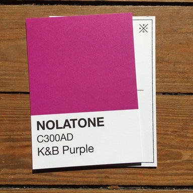 Nolatones Postcard - K&B Purple - Dirty Coast Press
