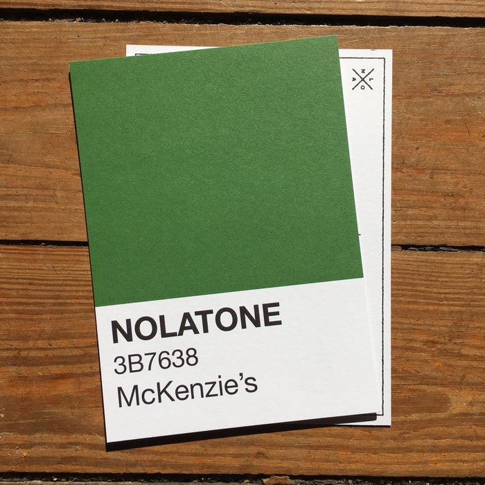 Nolatones Postcard - McKenzie's - Dirty Coast Press