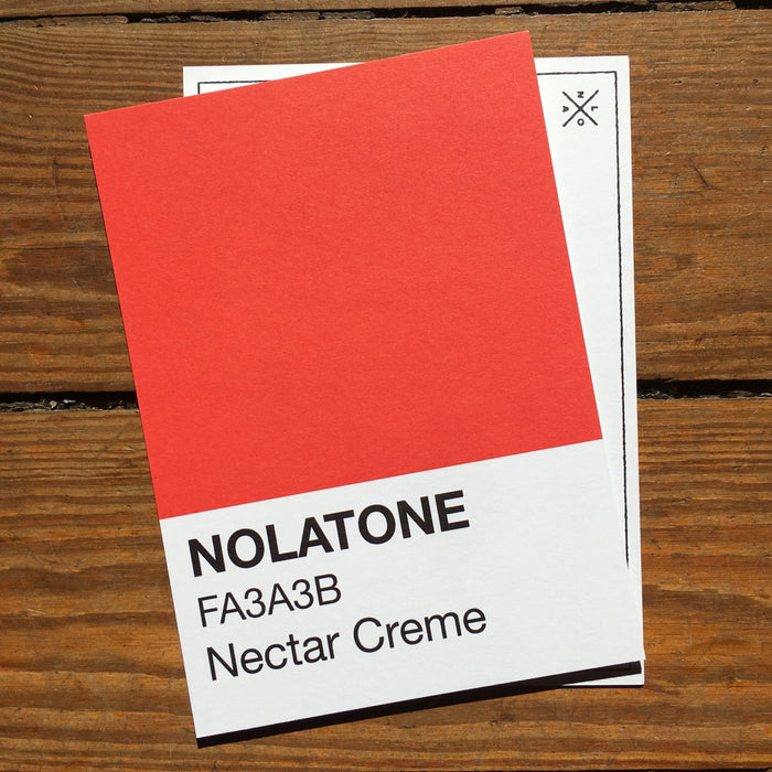 Nolatones Postcard - Nectar Creme - Dirty Coast Press
