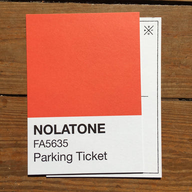 Nolatones Postcard - Parking Ticket - Dirty Coast Press