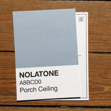 Nolatones Postcard - Porch Ceiling - Dirty Coast Press