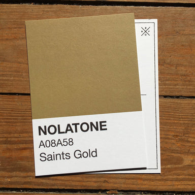 Nolatones Postcard - Saints Gold - Dirty Coast Press