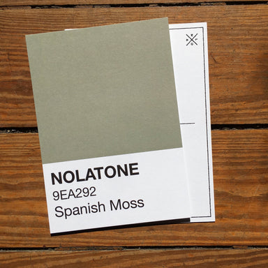 Nolatones Postcard - Spanish Moss - Dirty Coast Press