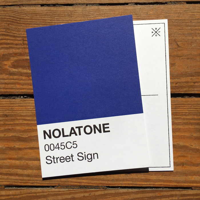 Nolatones Postcard - Street Sign - Dirty Coast Press