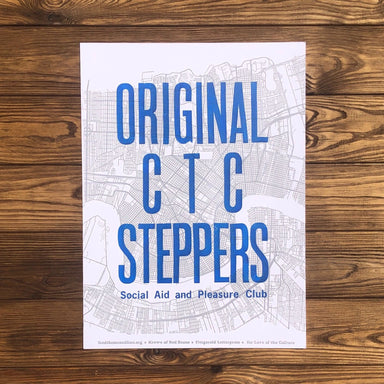 Original CTC Steppers Social Aid & Pleasure Club - Dirty Coast Press