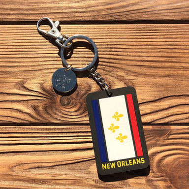 Our Flag Keychain - Dirty Coast Press