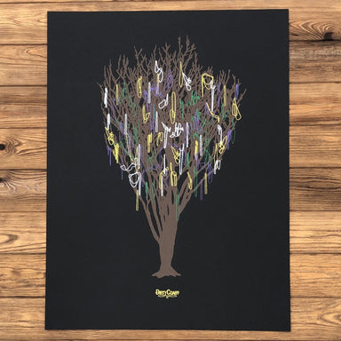 Our Trees Have Bling Print - Dirty Coast Press
