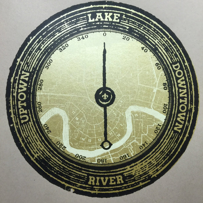 River. Lake. Uptown. Downtown. Print - Dirty Coast Press