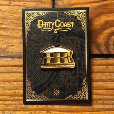 Superdome Enamel Pin - Dirty Coast Press