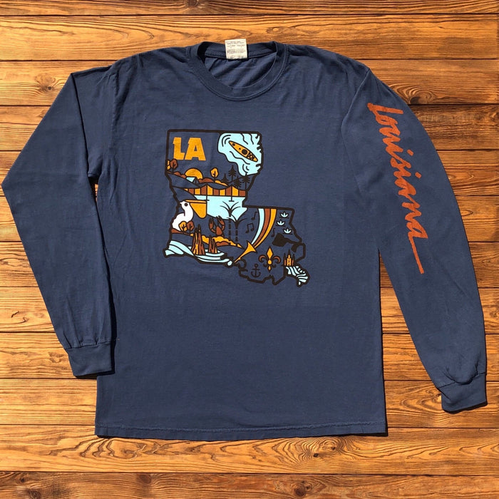 The Boot Long Sleeve - Dirty Coast Press