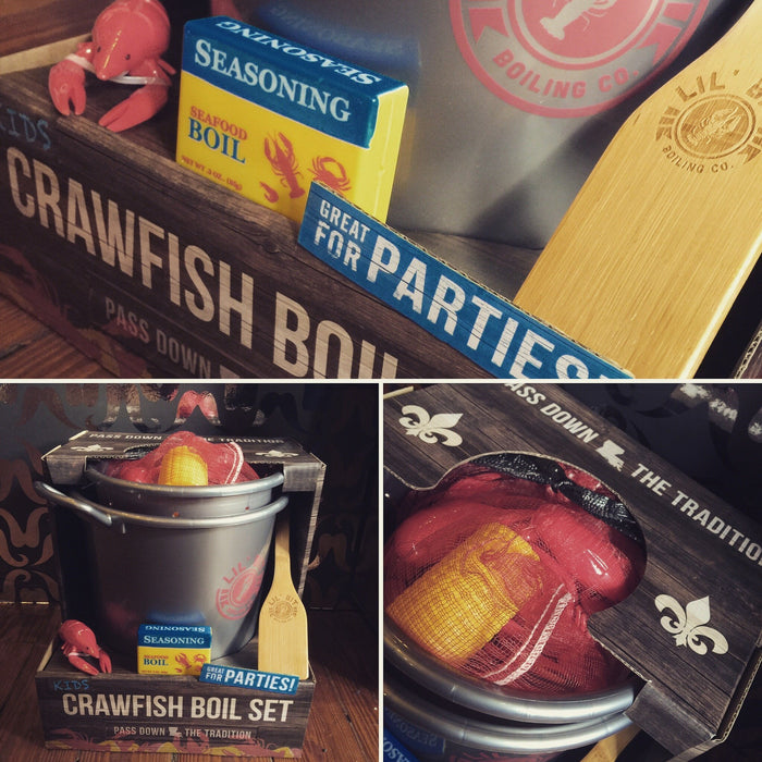 """The First Batch"" Kid's Crawfish Boil Set - Dirty Coast Press"