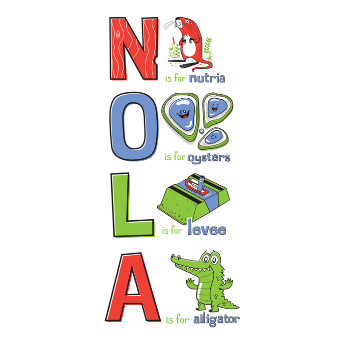 The NOLA ABCs Kids - Dirty Coast Press