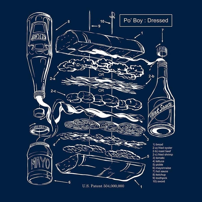 The Po'Boy Patent - Dirty Coast Press