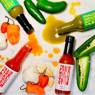 Trash Fire Hot Sauce - Dirty Coast Press