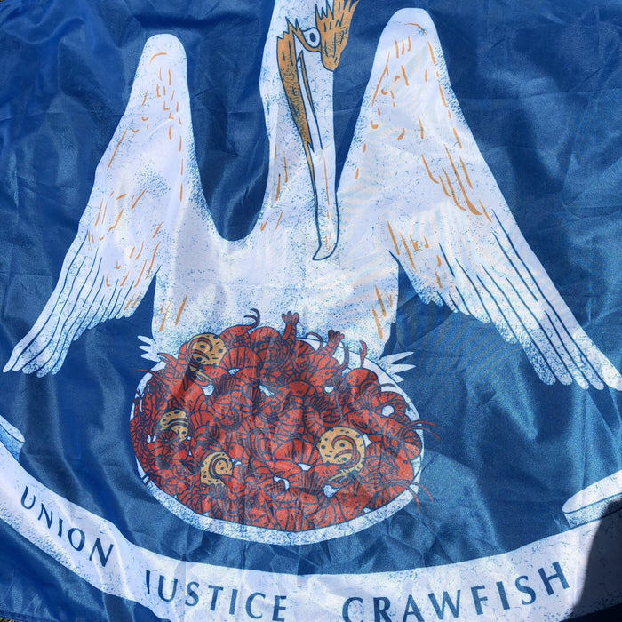 Union, Justice, Crawfish Flag - Dirty Coast Press