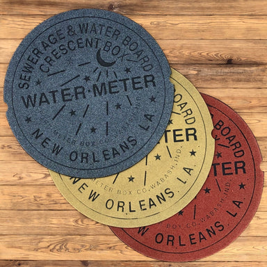 Water Meter Doormat - Dirty Coast Press