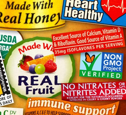Organic vs. Natural:<br> Don't be duped by deceptive food labels.