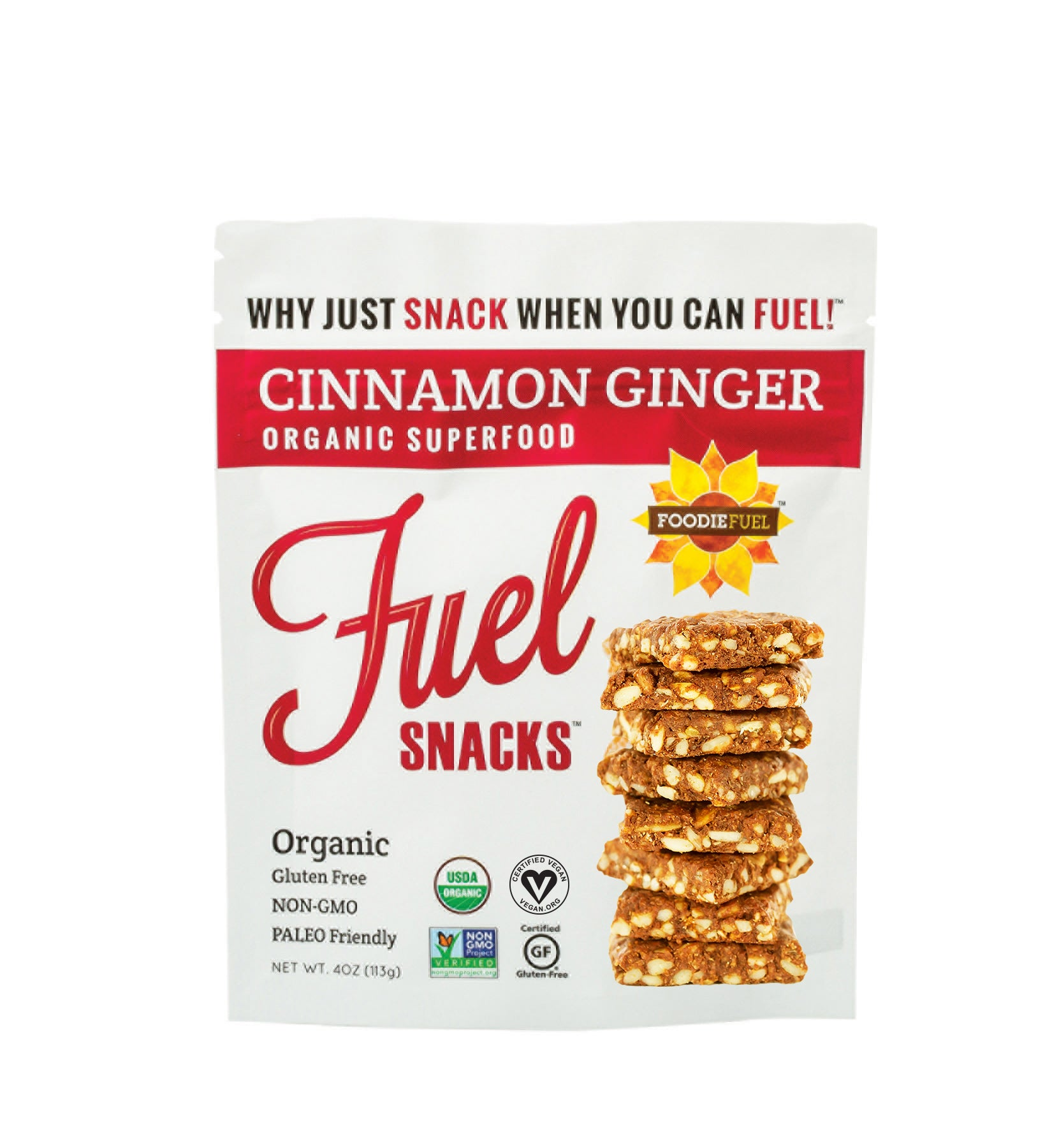 Cinnamon Ginger Fuel Snacks