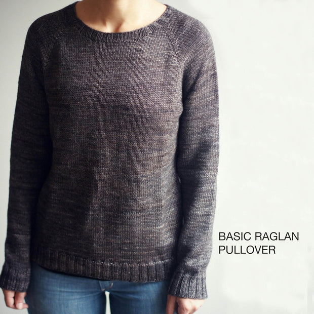 MAD | TOSH Pattern Basic Raglan Pullover