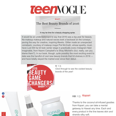 Teen VOGUE screenshot