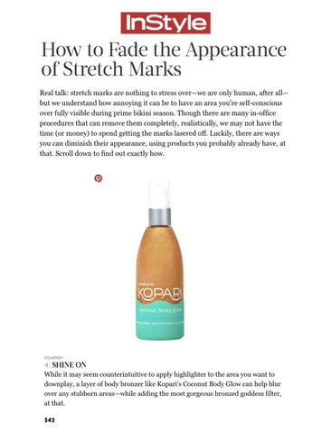 InStyle Features Body Glow