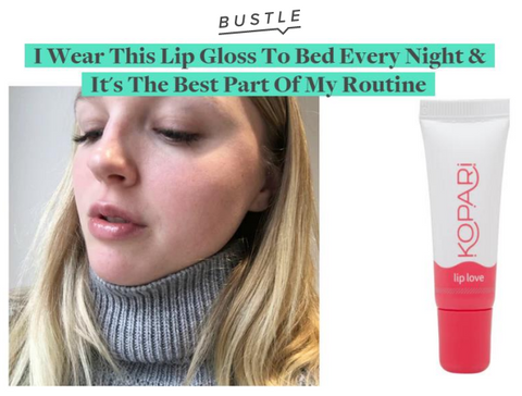 Bustle - I Wear This Lip Gloss To Bed Every Night & It's The Best Part Of My Routine
