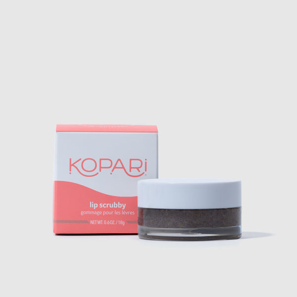 Exfoliating Lip Scrub with Fine Volcanic Sand and Brown Sugar