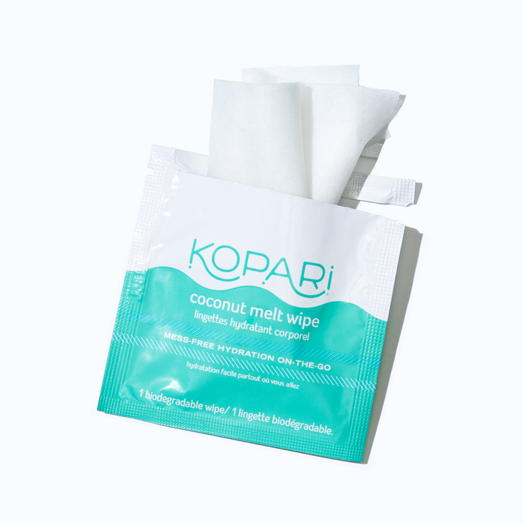 Coconut Melt Wipes