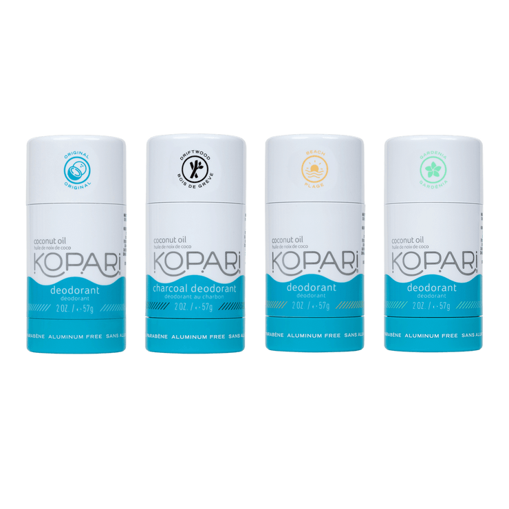 Deo Combo 4-Pack – Kopari Beauty