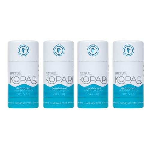 4-Pack Fragrance Free Deo